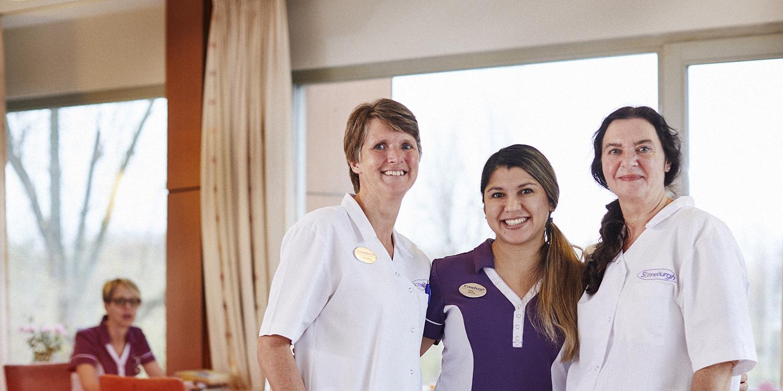 Verpleegkundige met een warm hart voor ouderen