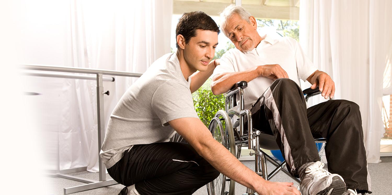 Vrijwilliger voor het vervoer van bewoners van en naar de Fysiotherapie